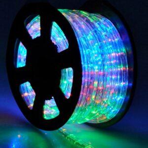φωτοσωλήνας-led-πλακέ-διάφανος-rgb-φως-με-το-μέτρο